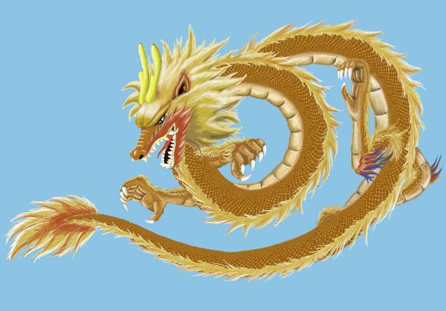 手绘]《中国龙》