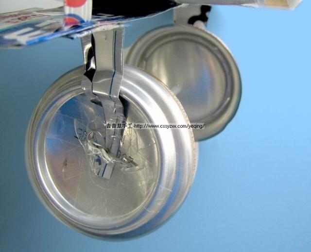 灯易拉罐灯笼简单制作方法图解