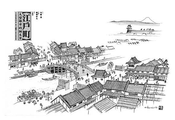 日本建筑之十九:东京建城500周年