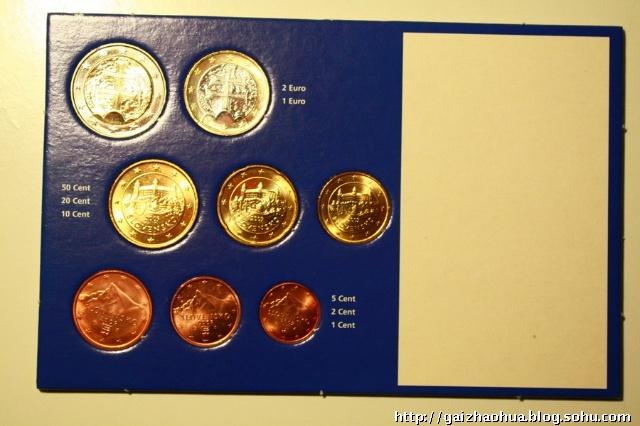 浅谈欧元硬币 晒晒我的收藏图片