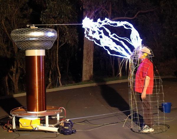 纪念尼古拉.特斯拉 交流电动机之父图片