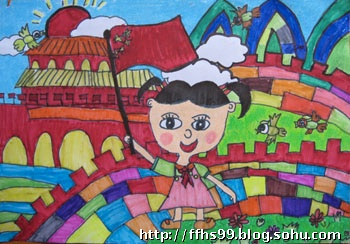 8到10岁画_假期优秀作品一组-菲凡画室-搜狐博客