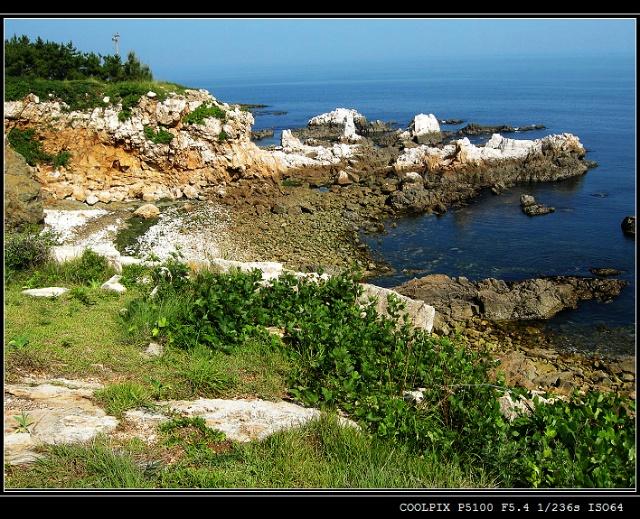 烟台养马岛(一):美丽的海滩(1)-田边-我的搜狐