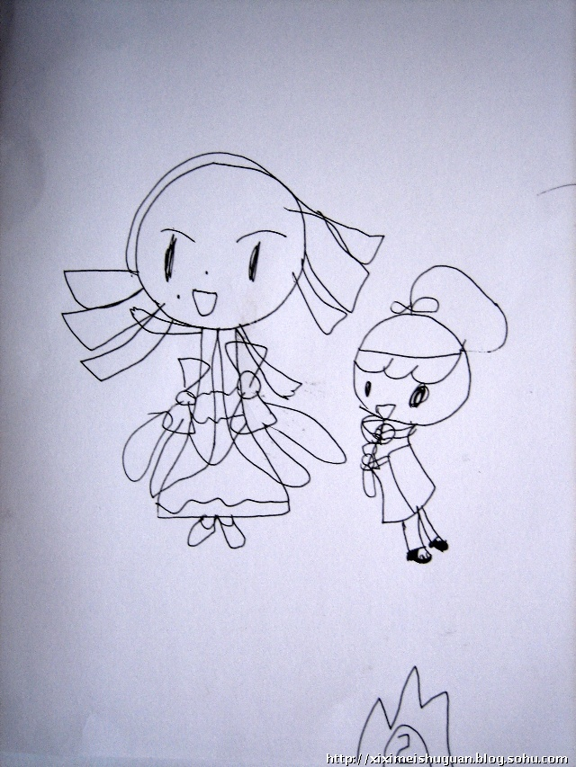 动物简笔画 公主 迪士尼 灰姑娘