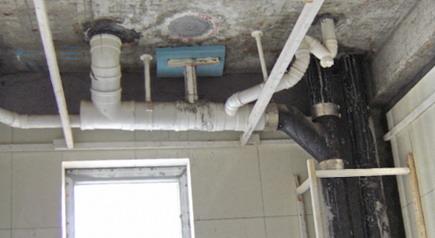 卫生间马桶 洗手盆 浴盆下水管道改造安装