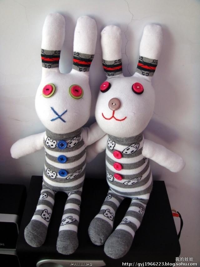超可爱的袜子娃娃,想学习的进来!
