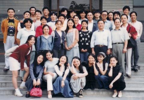 曝光北京电影学院96级明星班的珍贵图片图片